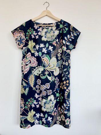bawełna TANA LAWN sukienka minimalistyczna
